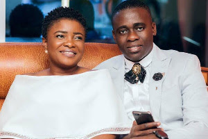Ohemaa Mercy and her estranged husband, Mr Isaac Twum-Ampofo