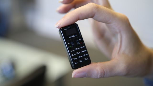 The World's Smallest Phone Introducing the Zanco tiny t1