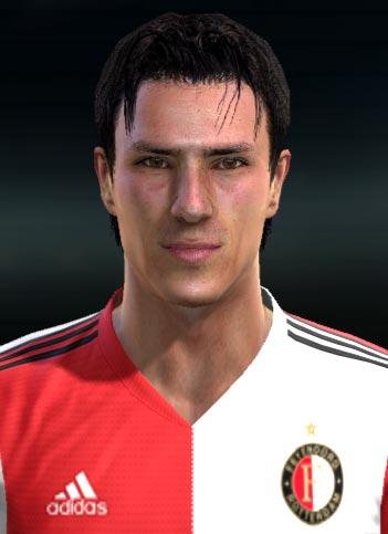 Steven Berghuis Face For PES 2013