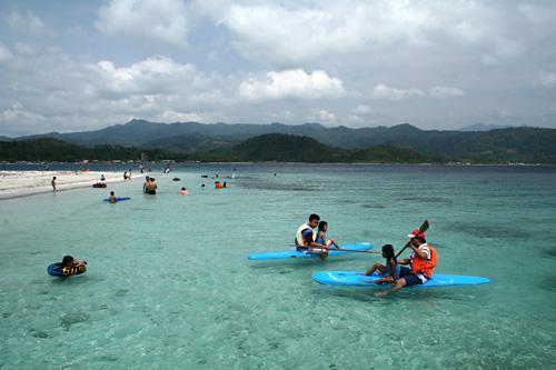 Wisata Bahari Bandar Lampung
