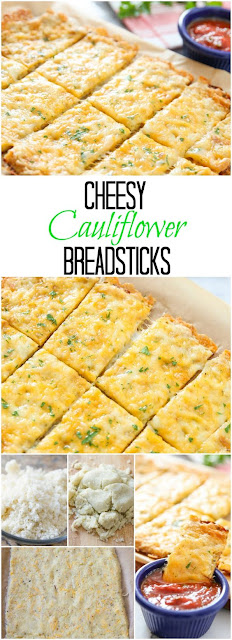 Cauliflower Breadsticks #appetizer