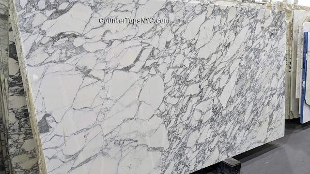 Arabescato Corchia Marble Slabs NYC 2cm