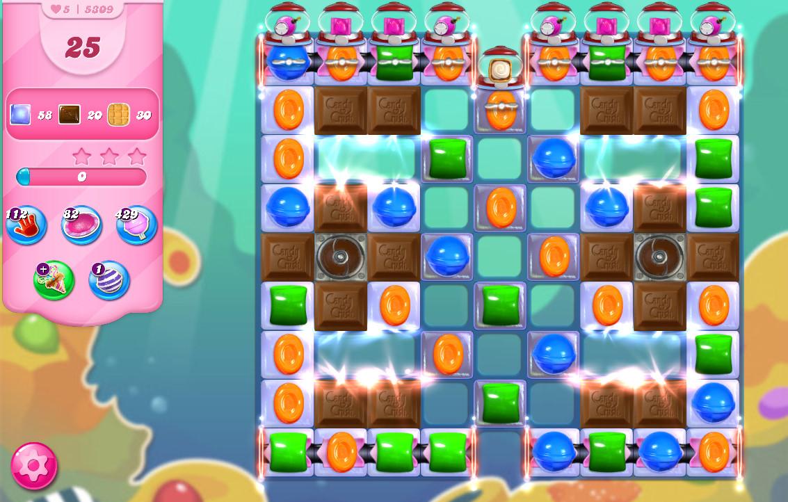 Candy Crush Saga level 5309
