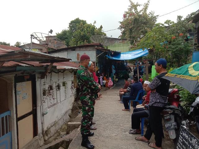 Personel Koramil 02/Siantar Timur Jajaran Kodim 0207/Simalungun Laksanakan Gakplin Diwilayah Binaan