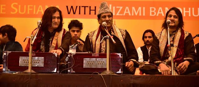 Shadab Faridi Nizami, Ustad Chand Nizami, and Shorabh Faridi Nizami-