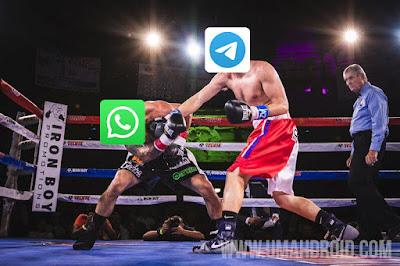 Telegram vs WhatsApp Bagus Mana