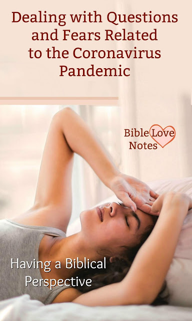 "An archive of helpful 1-minute devotions to deal with ""Pandemic Problems"" -- overcoming negative thoughts and fears, understanding our responsibilities, and answering questions about healing and random deaths."