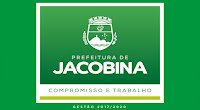 Resultado de imagem para logomarca prefeitura de jacobina 2017 compromisso e trabalho