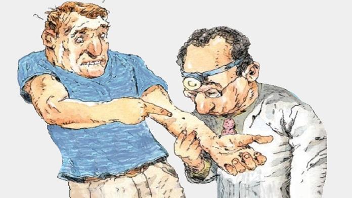Oggi parliamo dell'ipocondria, ovvero, il malato immaginario