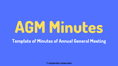 annual general meeting minutes format