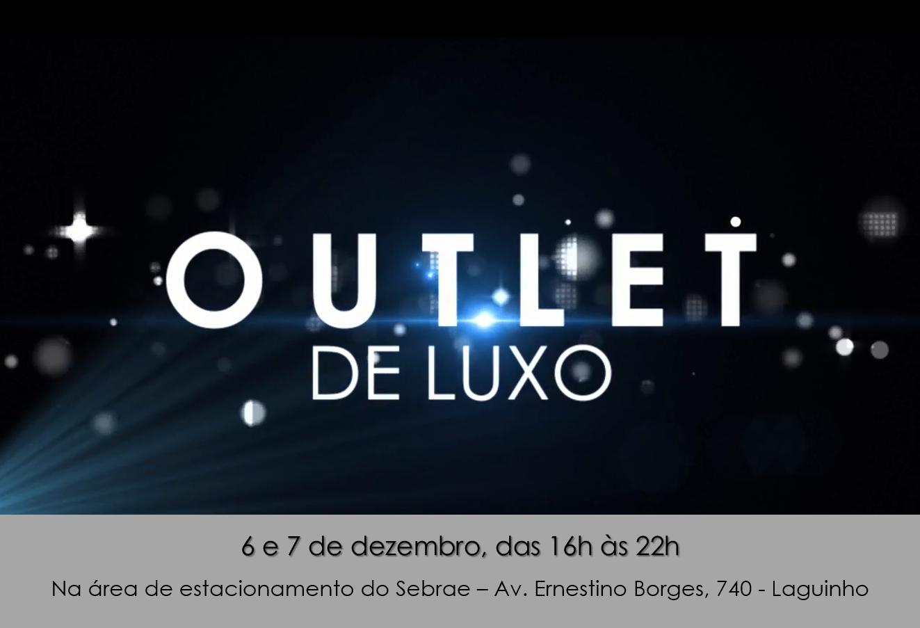 Outlet De Luxo Comercializa Produtos De Grandes Marcas A Pre Os