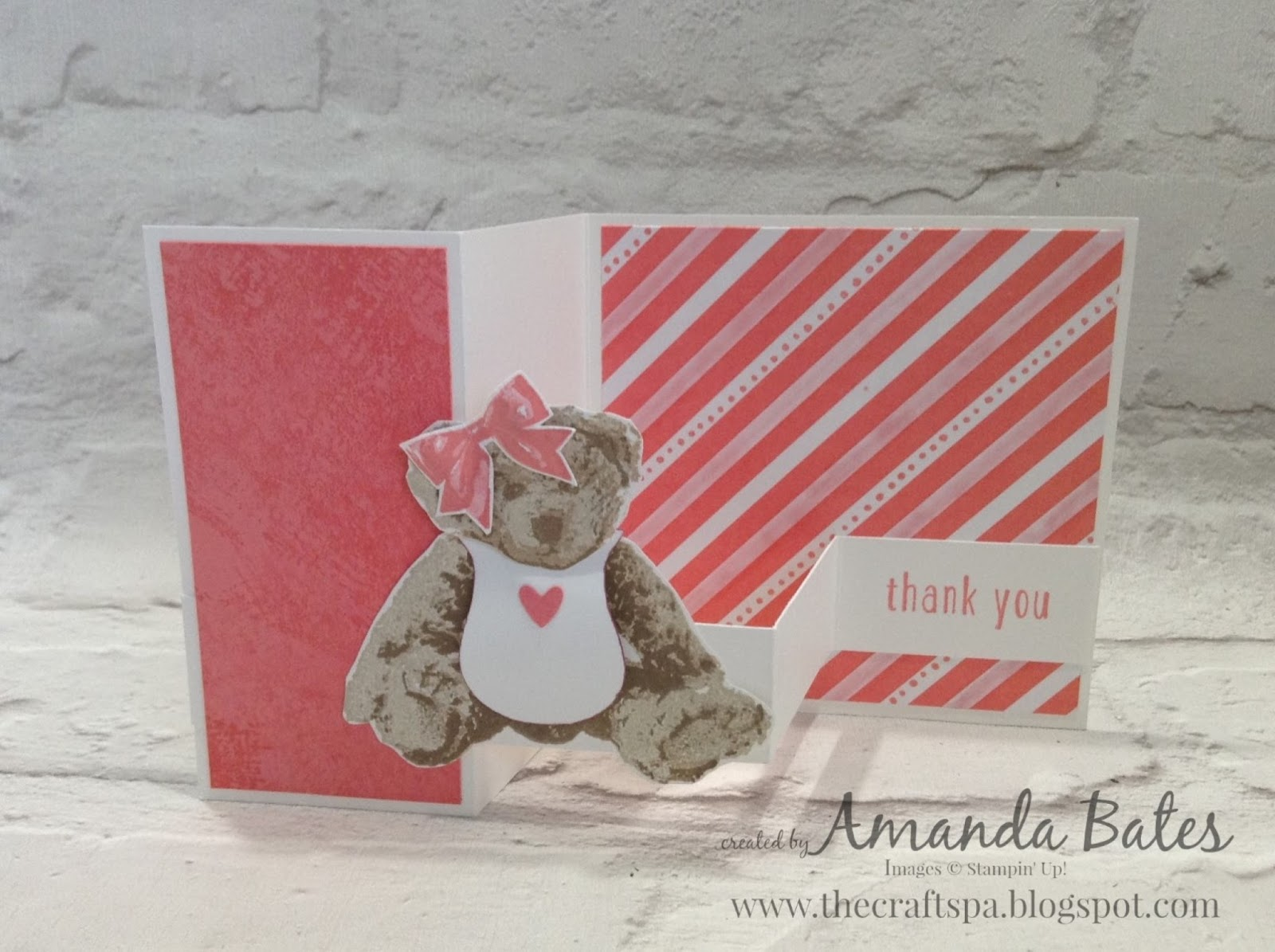 The Craft Spa Stampin Up Uk Independent Demonstrator Tutorial