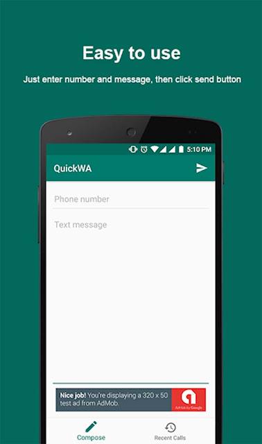 Cara Mudah Kirim Pesan WhatsApp Tanpa Harus Menyimpan Nomor Kontak