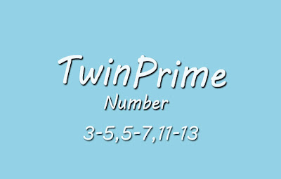 Twin Prime Number C Language Program