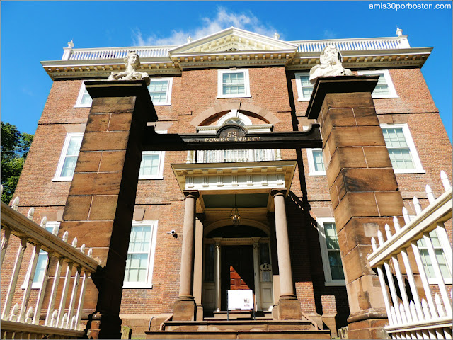 Casa Museo de John Brown en Providence, Rhode Island