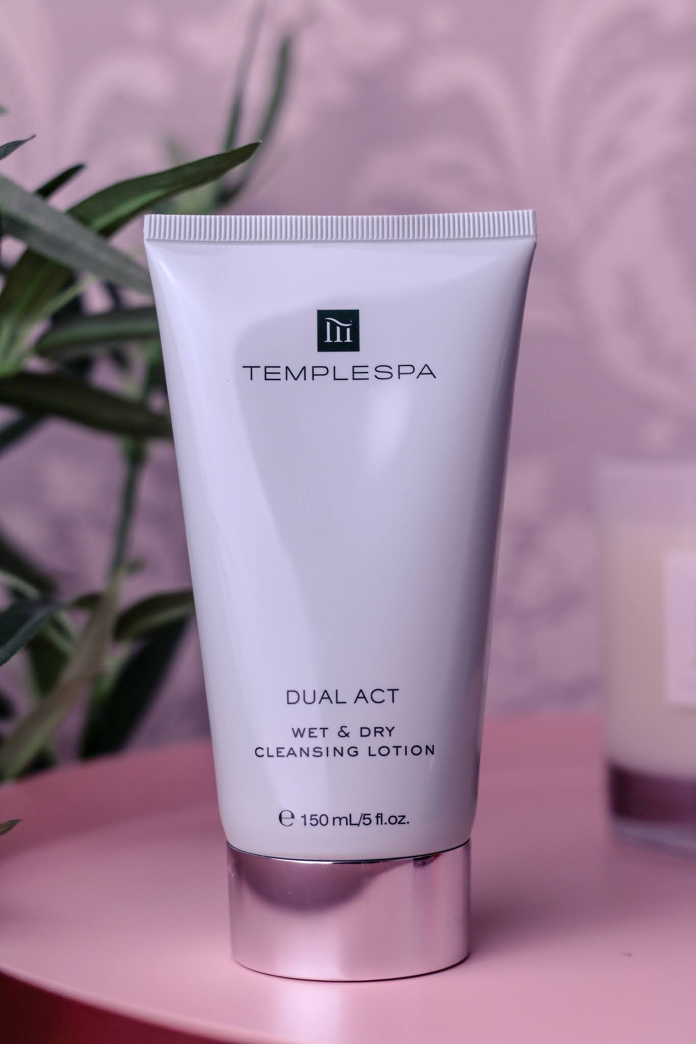 Close up photo of the Temple Spa Dual Act Cleanser
