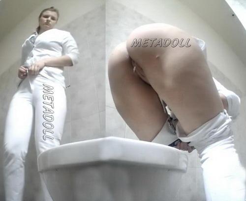 PissWC 207 (Hidden camera in women's toilet captures nurses)