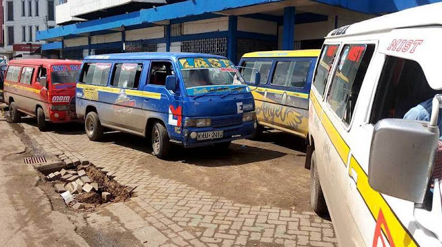 Matatu Owners Association in Mombasa.