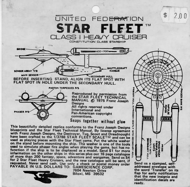 Space Squadrons 2998: Star Fleet Battle Manual (1977)