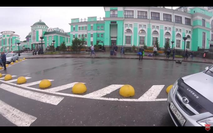 Omsk Train Station