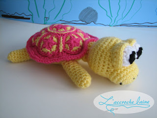 L'accroche laine - Tortue