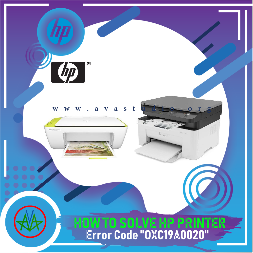 """How to fix Error Code """"oxc19a0020"""" HP Printers"""