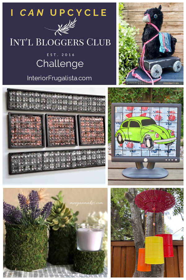 I CAN Upcycle Challenge for the talented members of the Int'l Bloggers Club