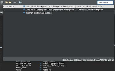ABAP in Eclipse, ABAP Development