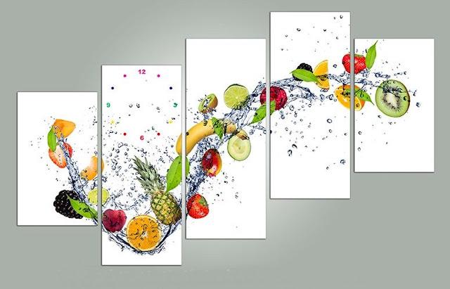 tranh kinh hoa qua treo phong an