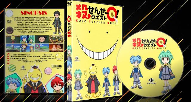 Koro-Sensei Quest! | Cover DVD |