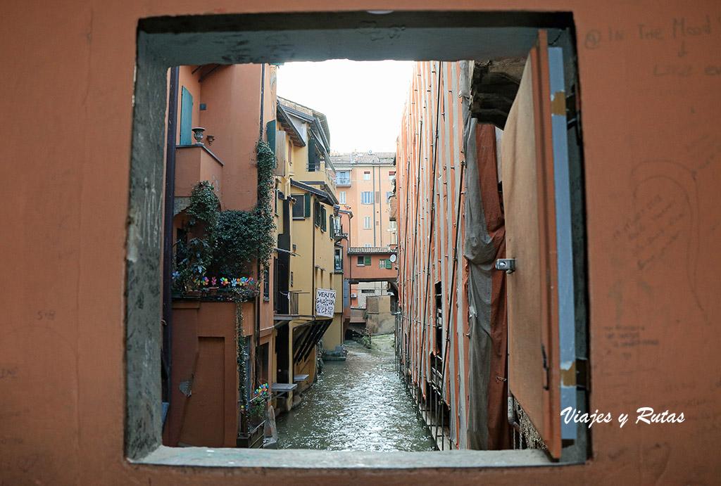 Qué ver en Bolonia Canale delle Molinem rio Piella,