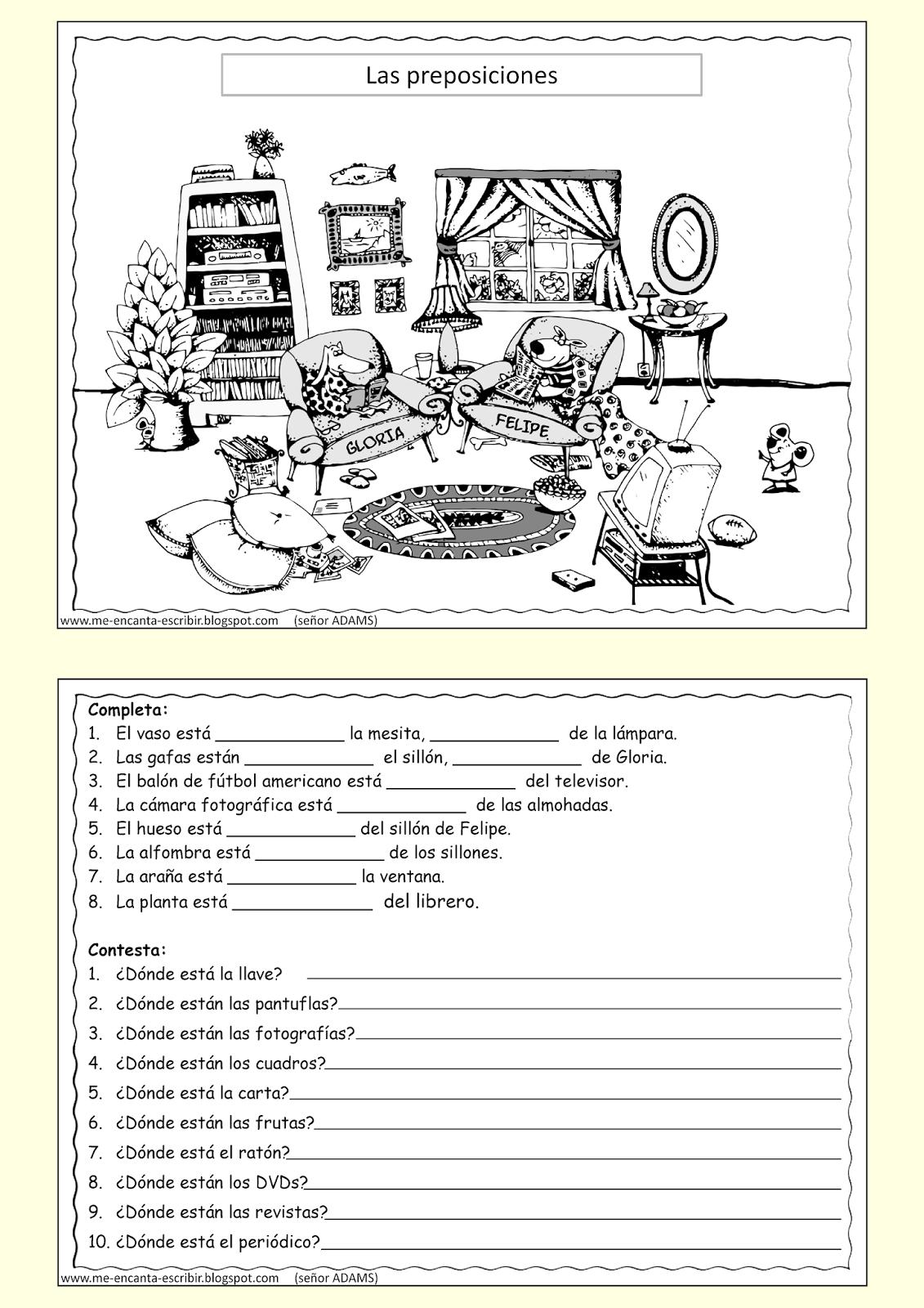 En La Clase Worksheet