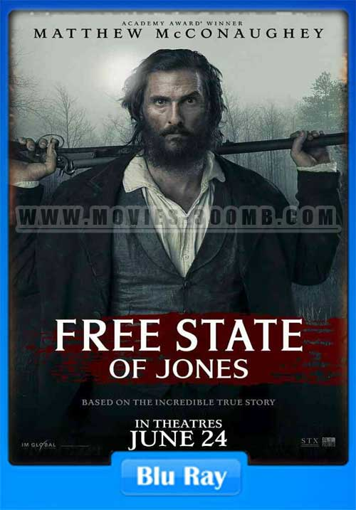 Free State of Jones 2016 480p BluRay 370MB x264 Poster