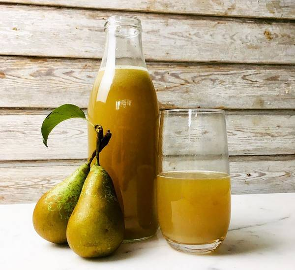 Pear and Apple Juice to Lose Weight Quickly