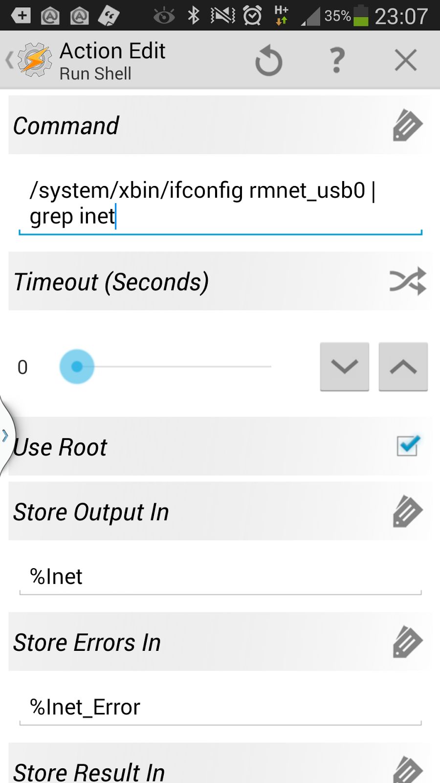 What is rmnet android