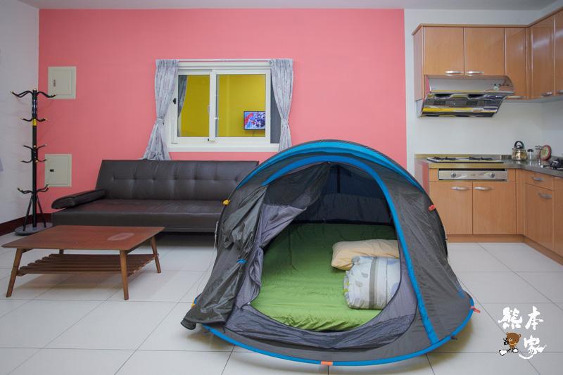 苗栗公館田園民宿|和風民宿|和風塌塌米房~空間寬敞還可以露營