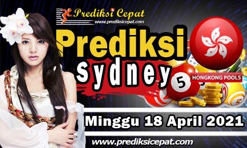 Prediksi Togel Sydney 18 April 2021