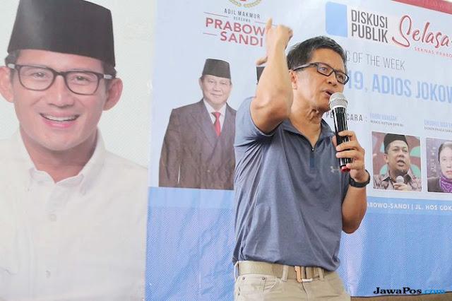 Kata Rocky Gerung, Elektabilitas Jokowi Ambruk karena Ulah Timsesnya