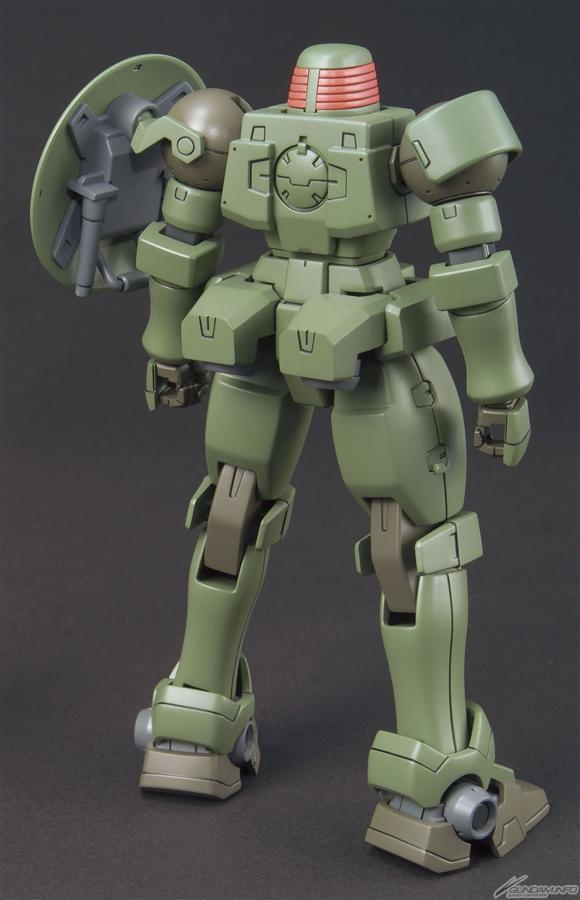 HGAC 1/144 OZ-06MS Leo back