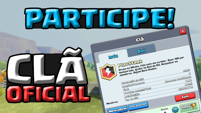 Clã Oficial no Clash Royale