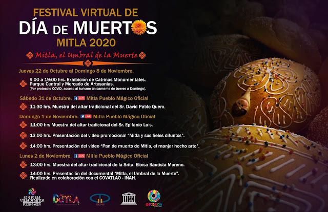 Festival de Día de Muertos Mitla 2020