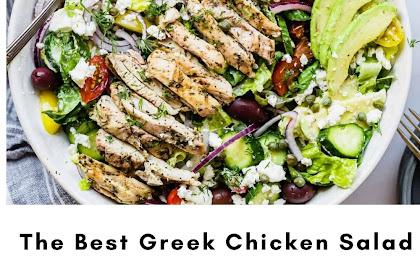 The Best Greek Chicken Salad