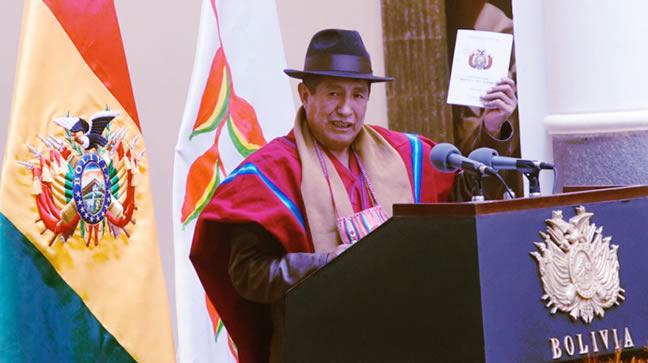 Rafael Quispe será implacable con quienes desfalcaron el Fondo Indígena