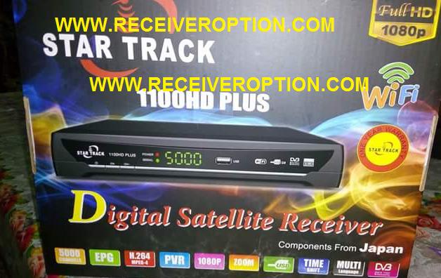 STAR TRACK 1100HD PLUS RECEIVER CCCAM OPTION