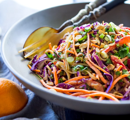 Thai Noodle Salad With Peanut Sauce
