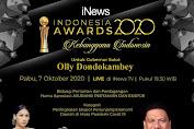 Majukan Pertanian dan Ekspor, Olly Dondokambey Sabet Indonesia Award (IA)-IV 2020
