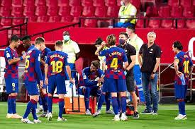 برشلونة عقب التعادل مع سيلتا فيجو شجار عنيف !