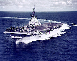 The USS Philippine Sea -1955