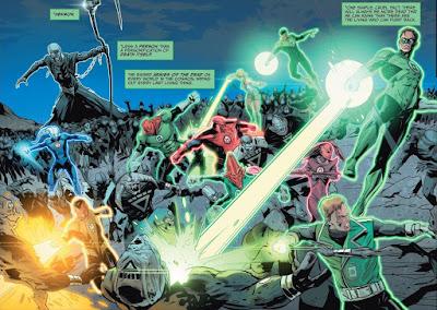 """Reseña de """"Green Lantern/Star Trek: La guerra espectral"""" - ECC Ediciones"""