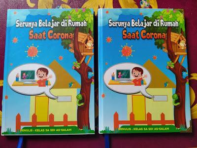 Buku Serunya Belajar di Rumah Karena Corona